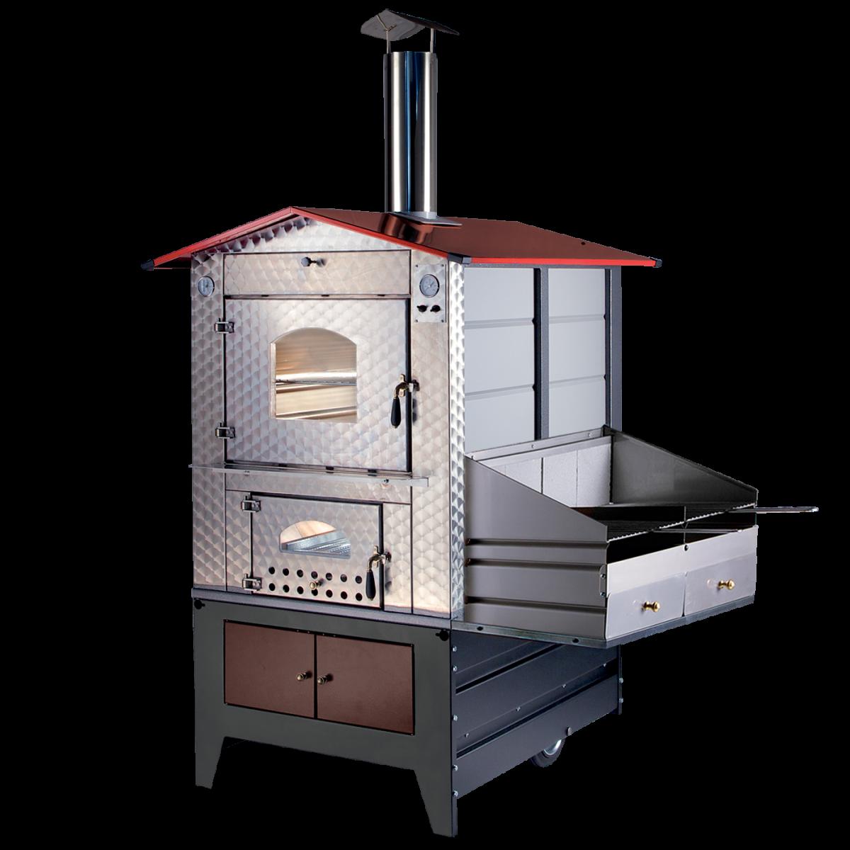 Forno a legna da esterno g100 barbecue gemignani macchine enologiche macchina enologica - Barbecue da esterno prezzi ...