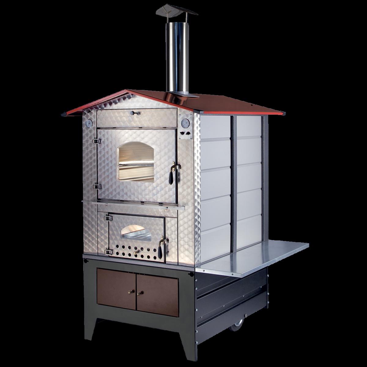 Forno a legna da esterno g100 gemignani macchine enologiche macchina enologica presse - Forno a legna interno ...