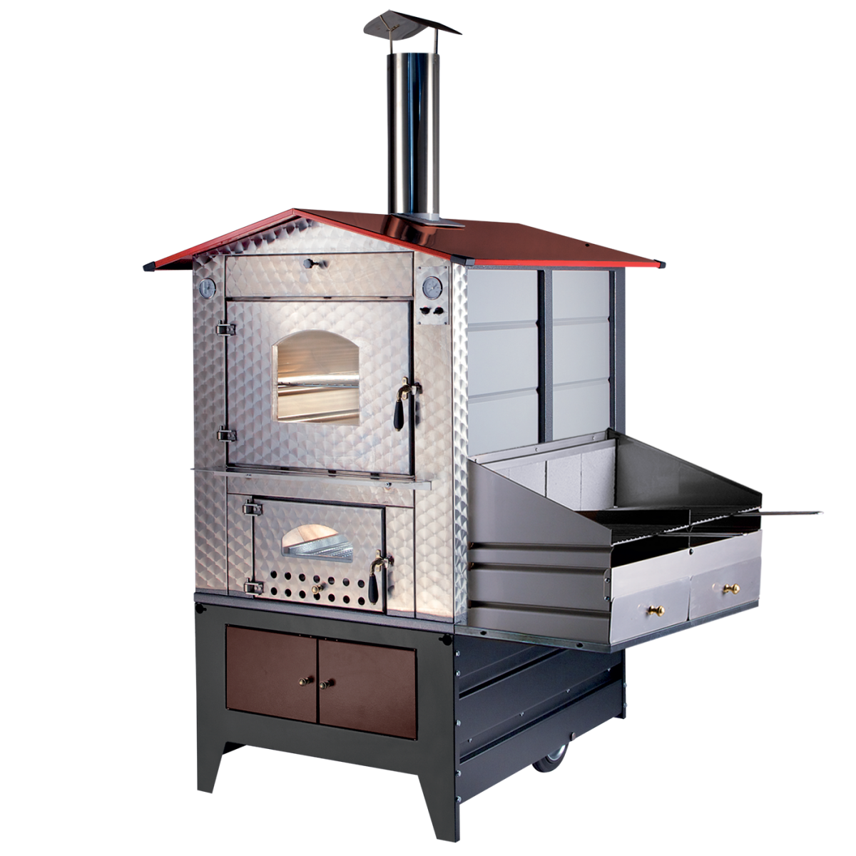 Wood Stove Outdoor Model G100 Barbecue