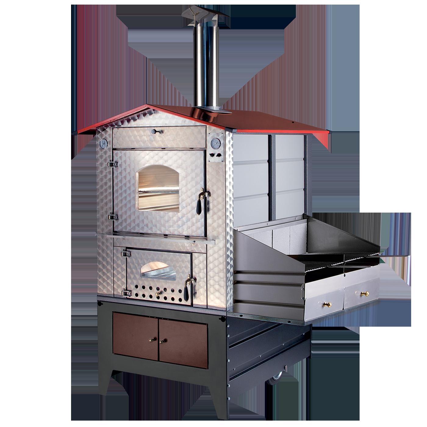 Piano cottura da esterno elegant la modularit di questo barbecue a gas da incasso consente - Forno a incasso a gas ...