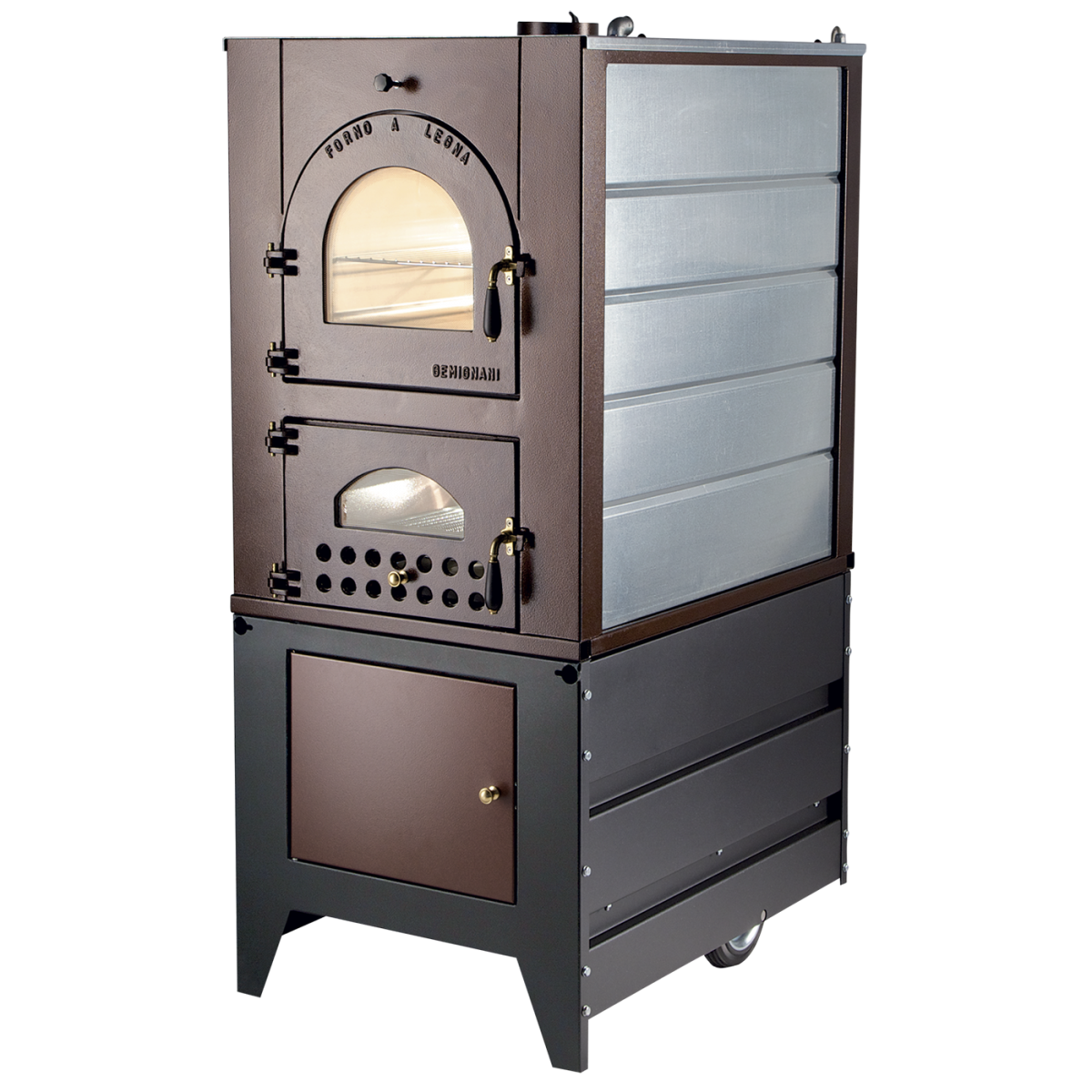 Indirect heat, wood burning, indoor and wall ovens G95C IS