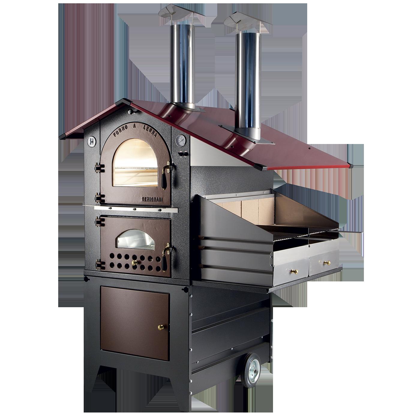 Forni a legna gemignani macchine enologiche macchina - Barbecue da giardino a legna ...