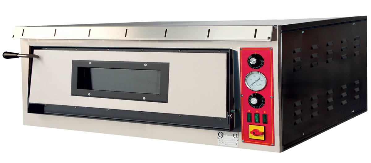 Electric ovens for pizzerias GEP6