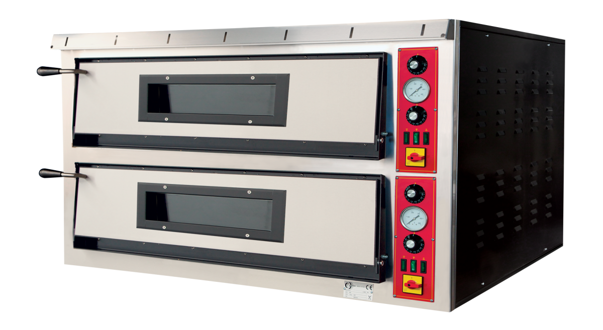 Electric ovens for pizzerias GEP66